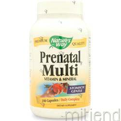 Prenatal Formula 180 caps NATURE'S WAY
