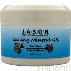 Tea Tree Cooling Mineral Gel 8 oz JASON
