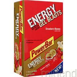 Energy Gel Blasts Strawberry Banana 12 pckts POWERBAR