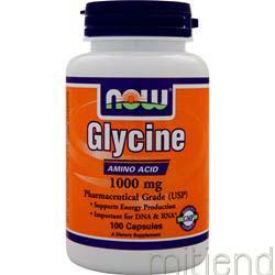 Glycine 1000mg 100 caps NOW
