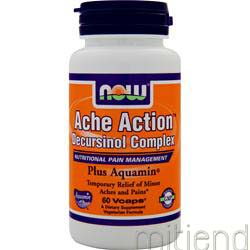 Ache Action Decursinol Complex 60 caps NOW