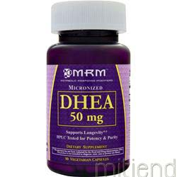 DHEA 50mg 90 caps MRM