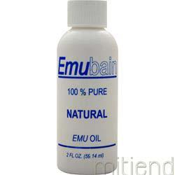 Emubain 100% Emu Oil 2 fl oz DREAM TAN