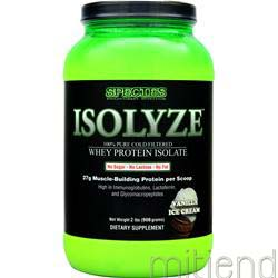 Isolyze Vanilla Ice Cream 2 lbs SPECIES