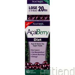 AcaiBerry Diet 60 caps NATROL