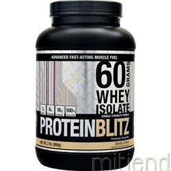 Protein Blitz Strawberry Cream 2 lbs DESIGNER WHEY