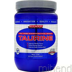 Taurine Powder 400 gr ALLMAX NUTRITION