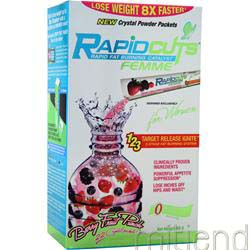 RapidCuts Femme Crystals Berry Fruit Punch 22 pckts ALLMAX NUTRITION