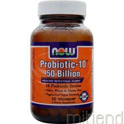 Probiotic-10 50 Billion 50 caps NOW