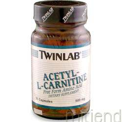 Acetyl L-Carnitine 500mg 30 caps TWINLAB