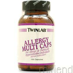 Allergy Multi Caps 100 caps TWINLAB