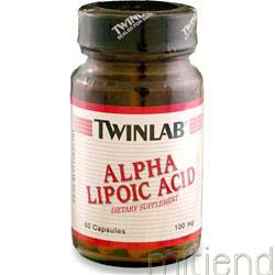 Alpha Lipoic Acid 100mg 60 caps TWINLAB