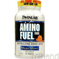Amino Fuel 1000 Mass 60 tabs TWINLAB