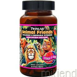 Animal Friends - Kid's Multivitamin Berry 50 wafrs TWINLAB