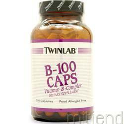 B-100 100 caps TWINLAB