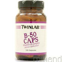 B-50 100 caps TWINLAB