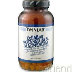 Cellmins - Potassium & Magnesium 180 caps TWINLAB