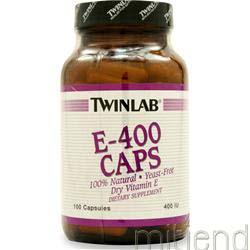 E-400 - Dry 100 caps TWINLAB