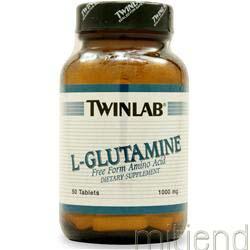 L-Glutamine 1000mg 50 tabs TWINLAB