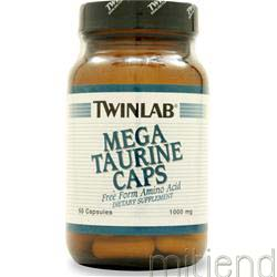 Mega Taurine 1000mg 50 caps TWINLAB