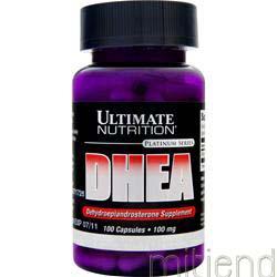 DHEA 100mg 100 caps ULTIMATE NUTRITION