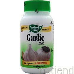 Garlic Bulb 100 caps NATURE'S WAY