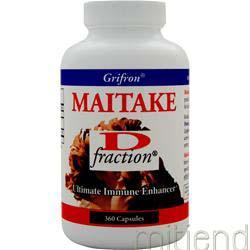 Maitake Mushroom Extract D-fraction 360 caps MUSHROOM WISDOM