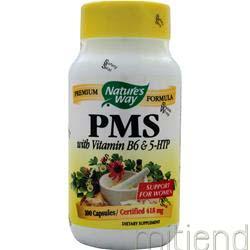 PMS with 5-HTP & Vitamin B-6 100 caps NATURE'S WAY