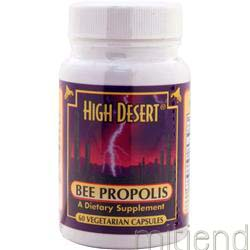 High Desert Bee Propolis 60 caps CC POLLEN