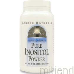 Pure Inositol Powder 8 oz SOURCE NATURALS