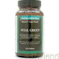 Vital Green 375 tabs FUTUREBIOTICS