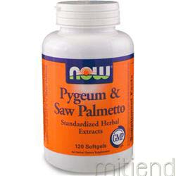 Pygeum & Saw Palmetto 120 sgels NOW