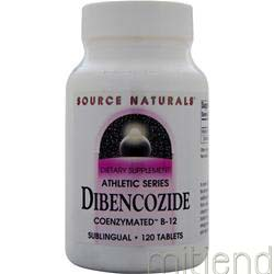 Dibencozide Coenzymated B-12 120 tabs SOURCE NATURALS