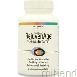 RejuvenAge 40plus Multivitamin 60 tabs RAINBOW LIGHT