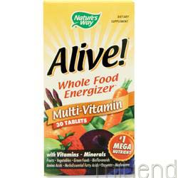 Alive Multivitamin 30 tabs NATURE'S WAY