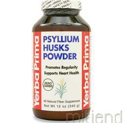 Psyllium Husks Powder 340 gr YERBA PRIMA