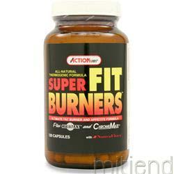 Super Fit Burners 120 caps ACTION LABS