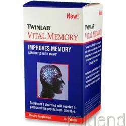 Vital Memory 45 tabs TWINLAB