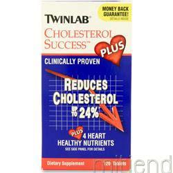 Cholesterol Success Plus 120 tabs TWINLAB