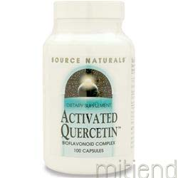Activated Quercetin 100 caps SOURCE NATURALS