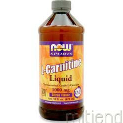 L-Carnitine Liquid 1000mg Citrus 16 fl oz NOW