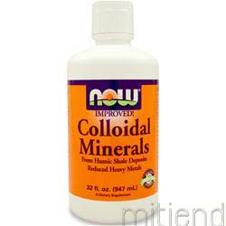 Colloidal Minerals Reduced Heavy Metals 32 fl oz NOW