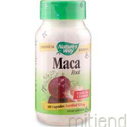 Maca Root 100 caps NATURE'S WAY