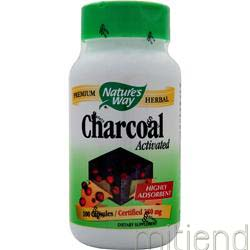 Charcoal - Activated 100 caps NATURE'S WAY