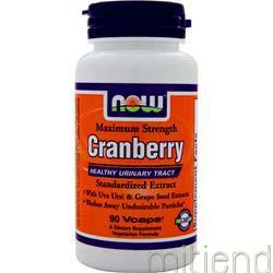 Cranberry - Standardized 90 caps NOW
