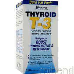 Thyrox T-3 180 caps ABSOLUTE NUTRITION