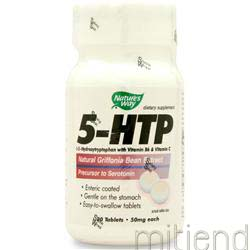 5-HTP 50mg 30 tabs NATURE'S WAY