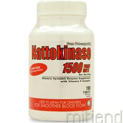 Nattokinase 120 tabs NATURALLY VITAMINS