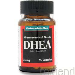 DHEA 25mg 75 caps FUTUREBIOTICS