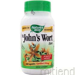St  John's Wort 350mg 100 caps NATURE'S WAY